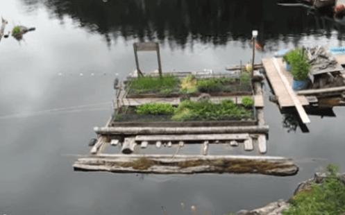 float garden