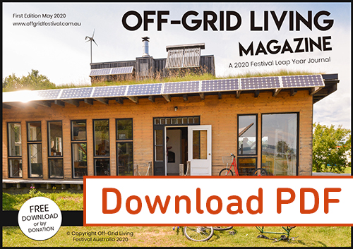 Download off grid living magazine Australia
