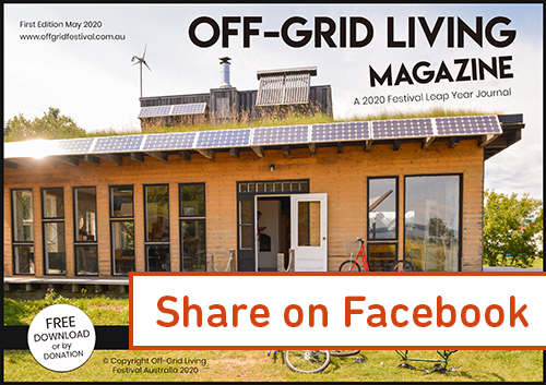 Australia's first off-grid living magazine