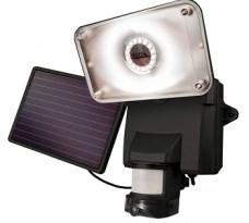Maxsa Solar Security Camera with Floodlight
