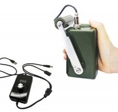 Tech-L Hand-Crank Emergency Power Generator