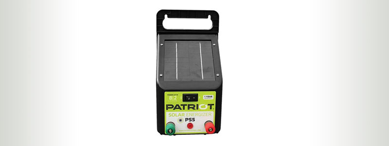 Patriot PS5 Solar Fence Charger