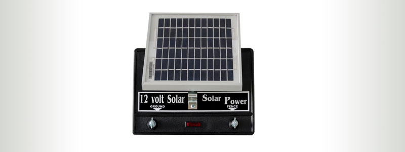 Silver Streak 5-Joule Solar Fence Charger