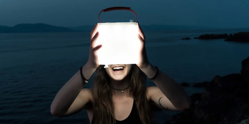 LuminAID Solar Inflatable Lanterns for Off-Grid Life
