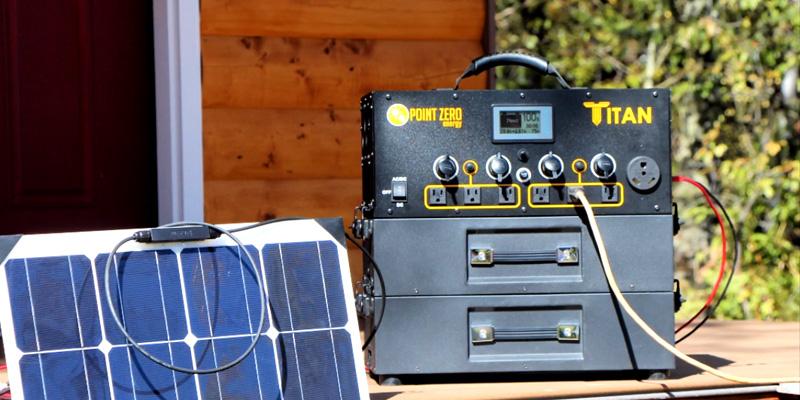 Titan Portable Solar Generator Kits