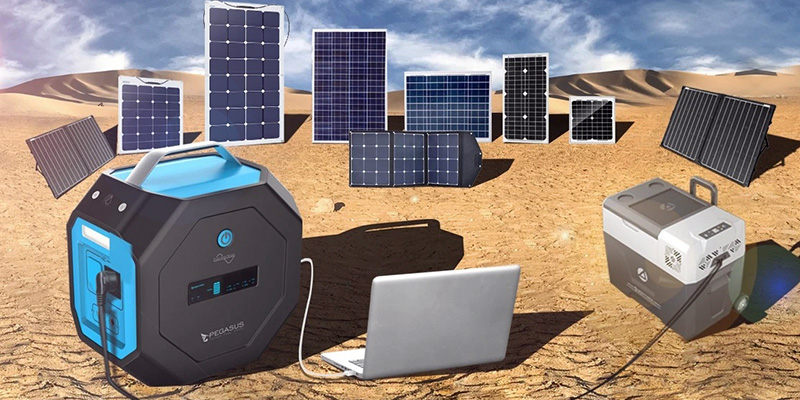 AcoPower Portable Solar Panel and Generator Kits