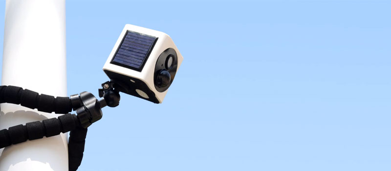 EyeCube Solar Camera Overview