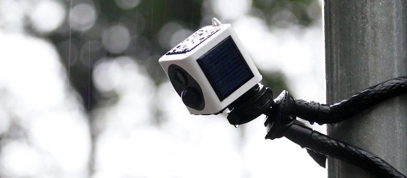 Solar Wireless Camera from IMag