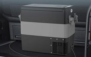 BougeRV 53-Quart Solar-Chargeable Car Freezer