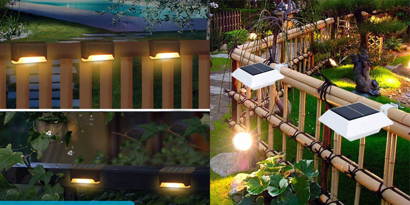 Best Solar Fence Lights UK: Illuminate Your Garden Fences With No Cord and Electricity