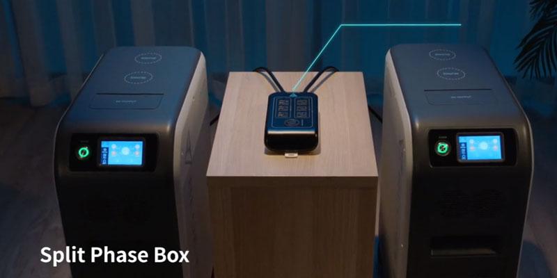 Bluetti EP500 with Split Phase Accessory Box