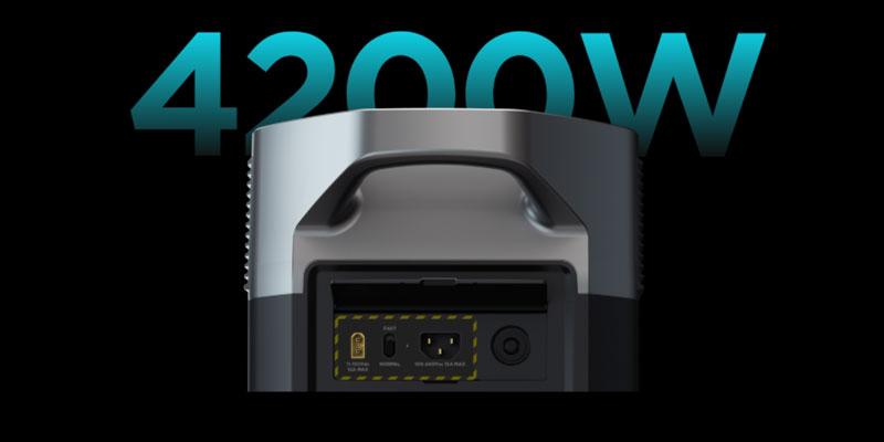 EcoFlow Detlta Pro with Solar Charging