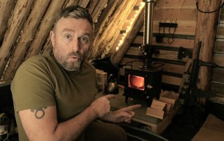 Cubic grizzly mini wood stove