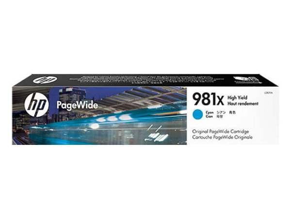 HP L0R09A Tinte Nr 981X cyan