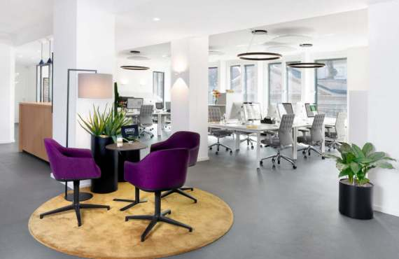 Büro und Design - Kommunikationsbüro der Zukunft