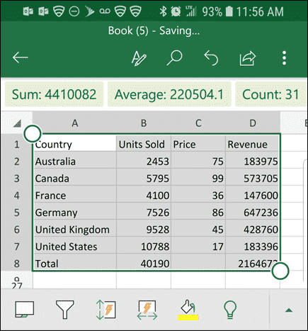 Convert Photo To Worksheet With New Excel Feature