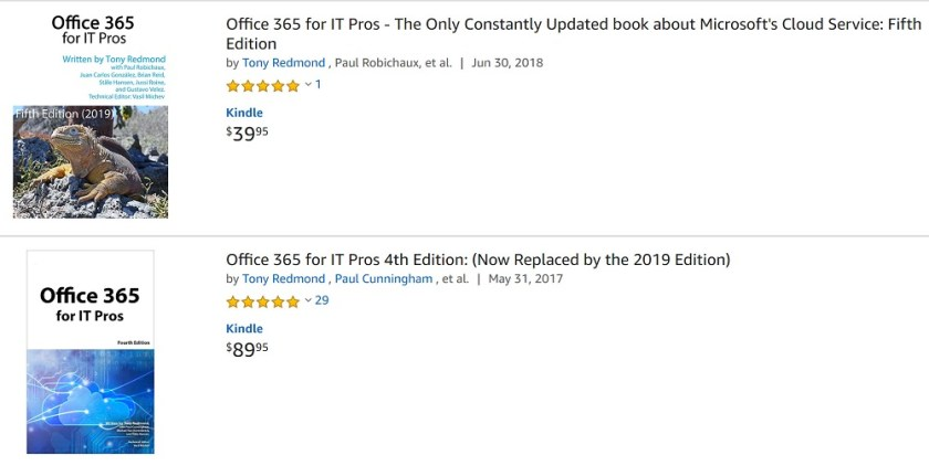 Amazon Ratings for Office 365 for IT Pros
