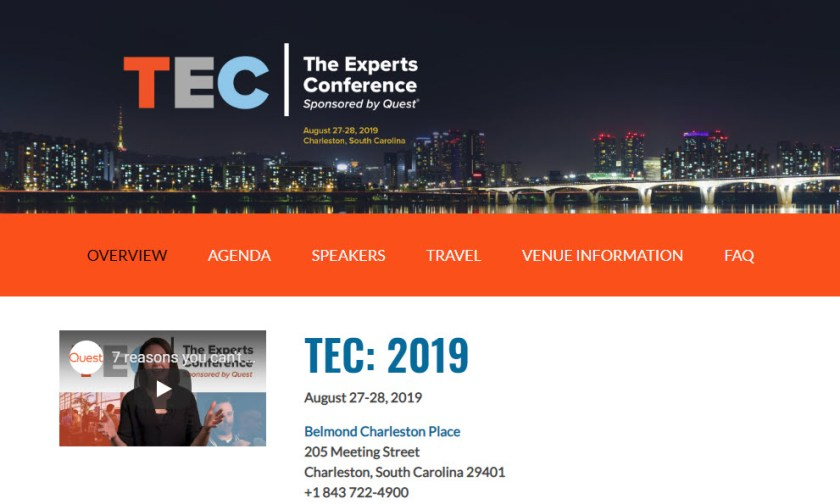 The Experts Conference 2019