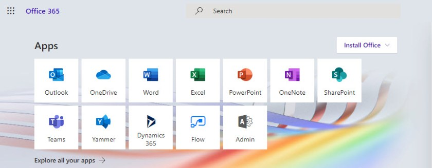 The Ribbon Office 365 theme