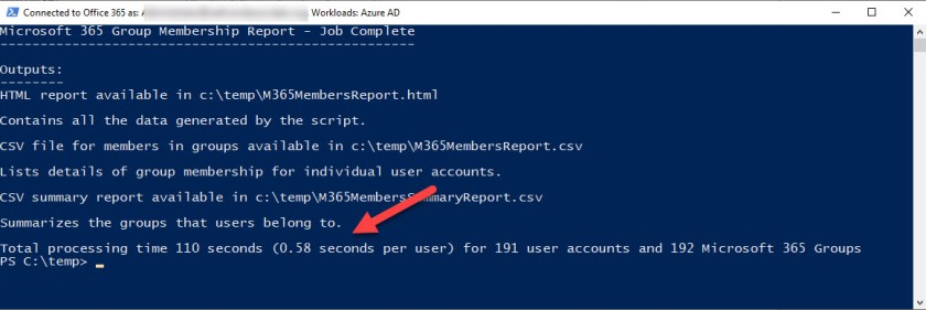 Creating a Microsoft 365 Groups membership report with PowerShell
