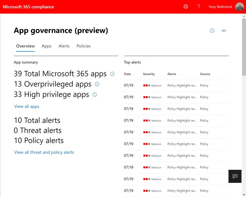 App Governance overview