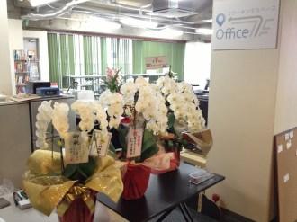 KDDIウェブコミュニケーションズさん、プライム・ストラテジーさん、有限会社ミリオンコムさんから、胡蝶蘭をいただきました。ありがとうございます!