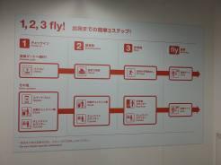 埼玉県から福岡県に行く交通手段として、ジェットスターが一番割安でした。