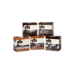 Peets Coffee offers a wide array and variety of coffee flavors and styles to support whatever brewing system you want to have installed.