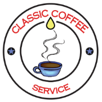 Logo for Classic Coffee Service Tampa Website footer area