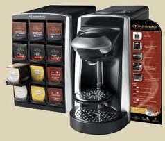 Single cup coffee maker equipment used by Classic Coffee Service Tampa.