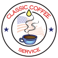 Final logo fully transparent no white background for classic coffee service