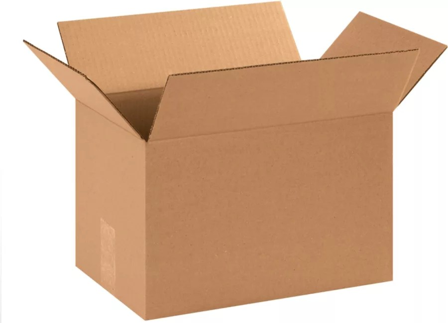 14inL X 9inW X 9inD Corrugated Shipping Boxes Office Depot