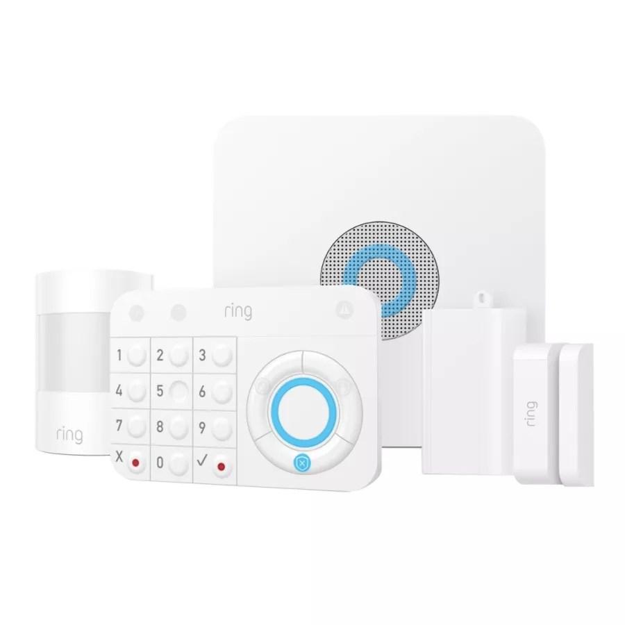 Ring 5 Piece Alarm Kit 4k11s7 0en0 Office Depot