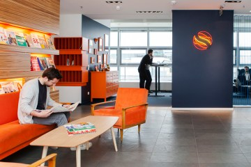 Solaris Bank, Office, Berlin, Entrance,
