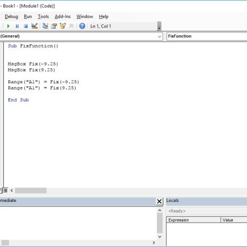 VBA Excel functions - Fix VBA function