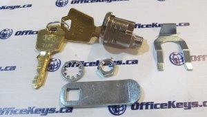 ESP/Hudson Lock PTR-656-04B Cutler Federal Mailbox Lock