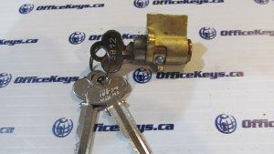 Capitol Lock 4096-14 Canadian Mailbox Lock