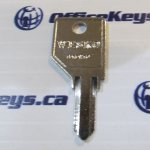 Wesko Lock MK Key Blank (Double Sided)