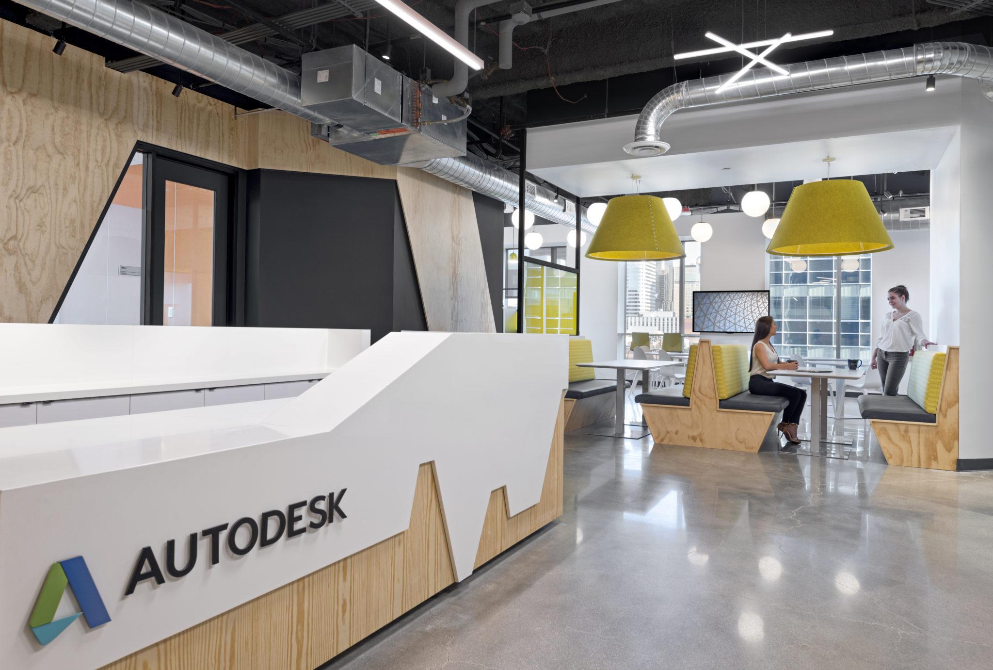 A Peek Inside Autodesk's New Denver Office