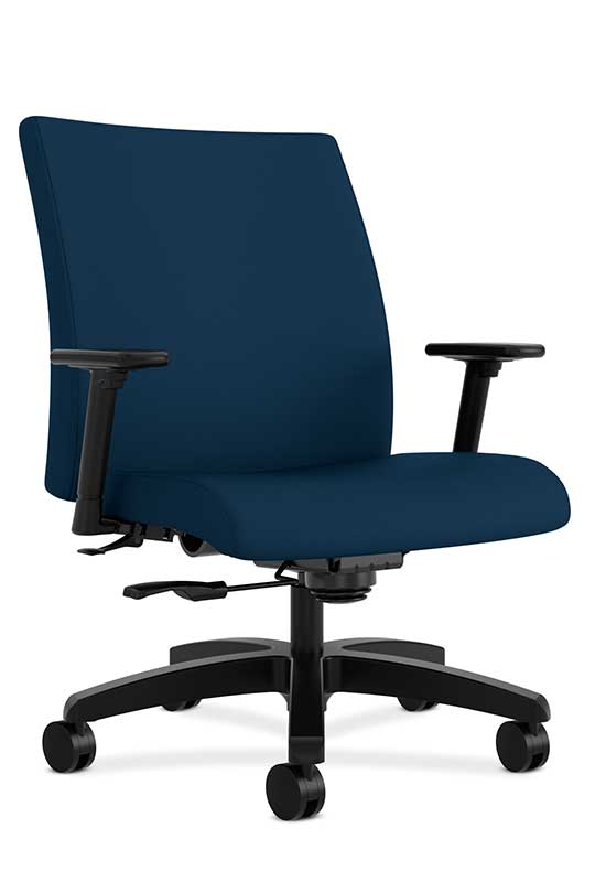 HON Ignition Mid Back Task Chair Big And Tall