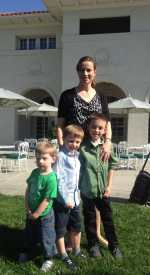 Nicola Finnerty & boys Oct 13