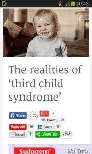 Andrea Mara Eumom Third Child Syndrome