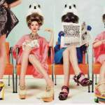 Office Mum post: Russian Vogue hairdresser photo