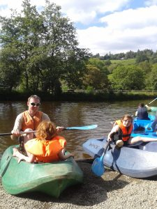 Office Mum photo: kayaking