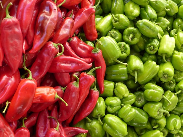Office Mum post: photo of chillis