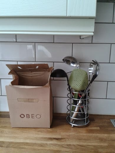Obeo food waste box - office mum