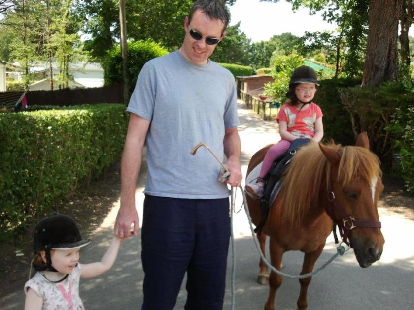 Horse-riding in Grand Meterie, Carnac