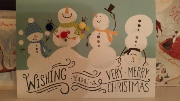 Christmas card - Office Mum