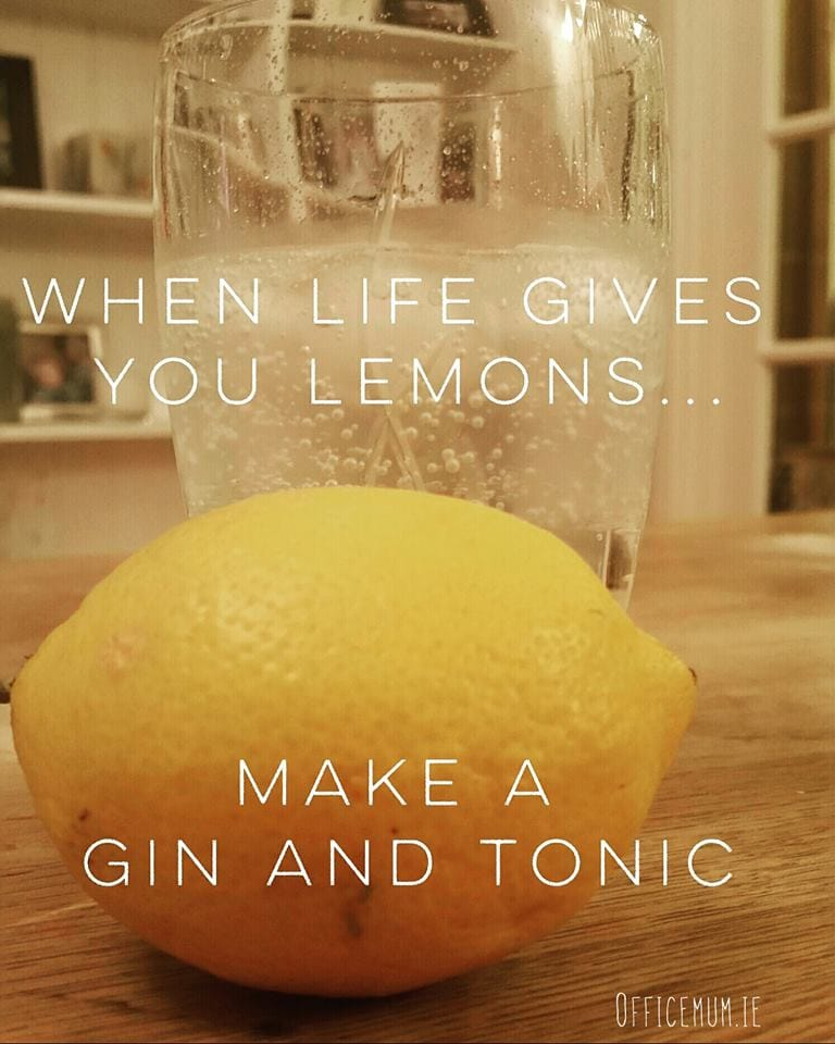 When life gives you lemons - Offie Mum