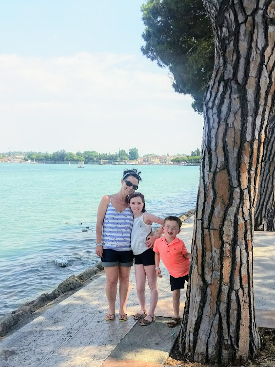 Lake Garda Bella Italia Peschiera walk - Office Mum Andrea Mara